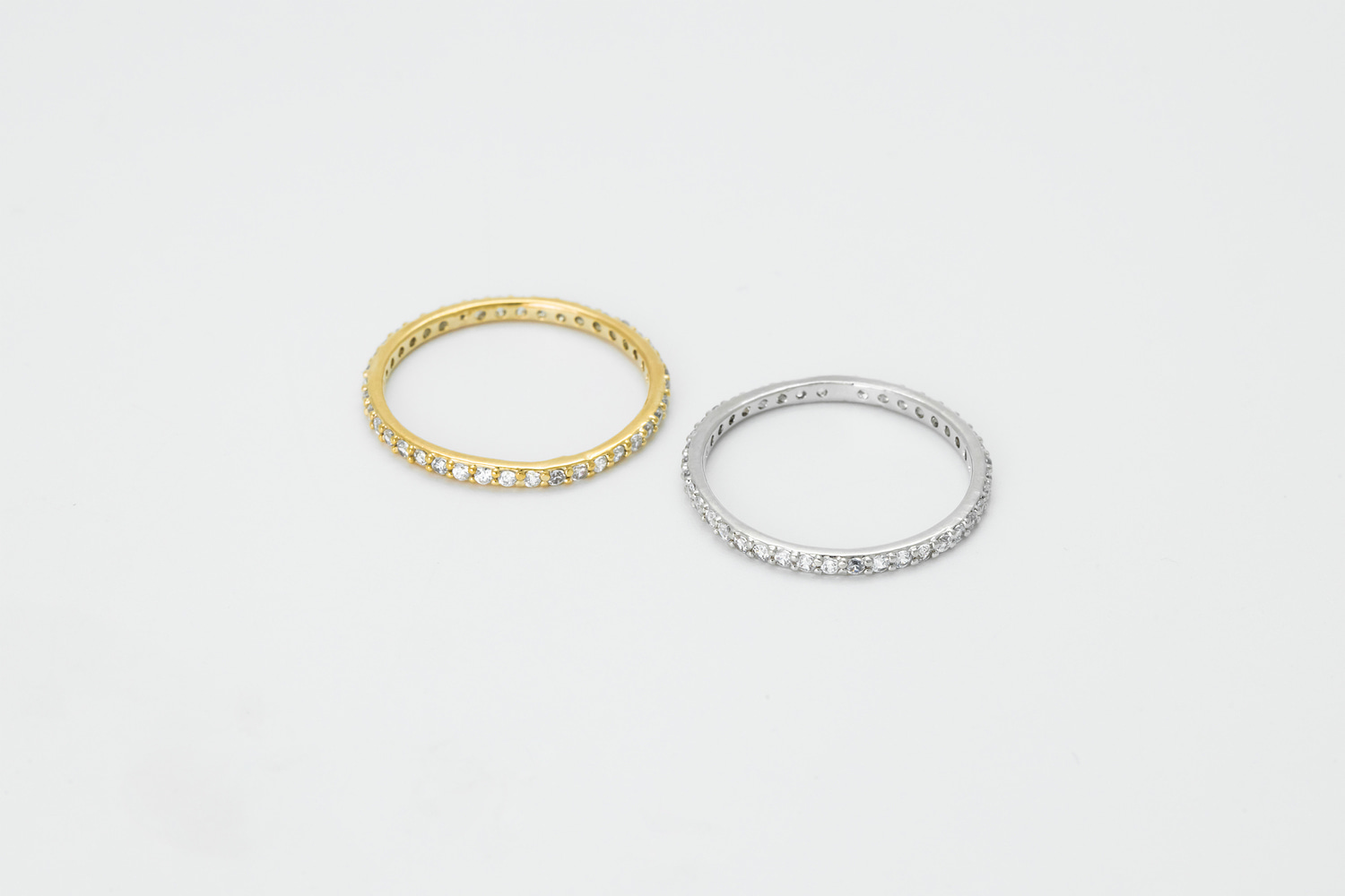 [RB20-08] Cubic ring, Brass, CZ, Nickel free, Handmade jewelry, Simple rings, Dainty ring, 1 piece per style
