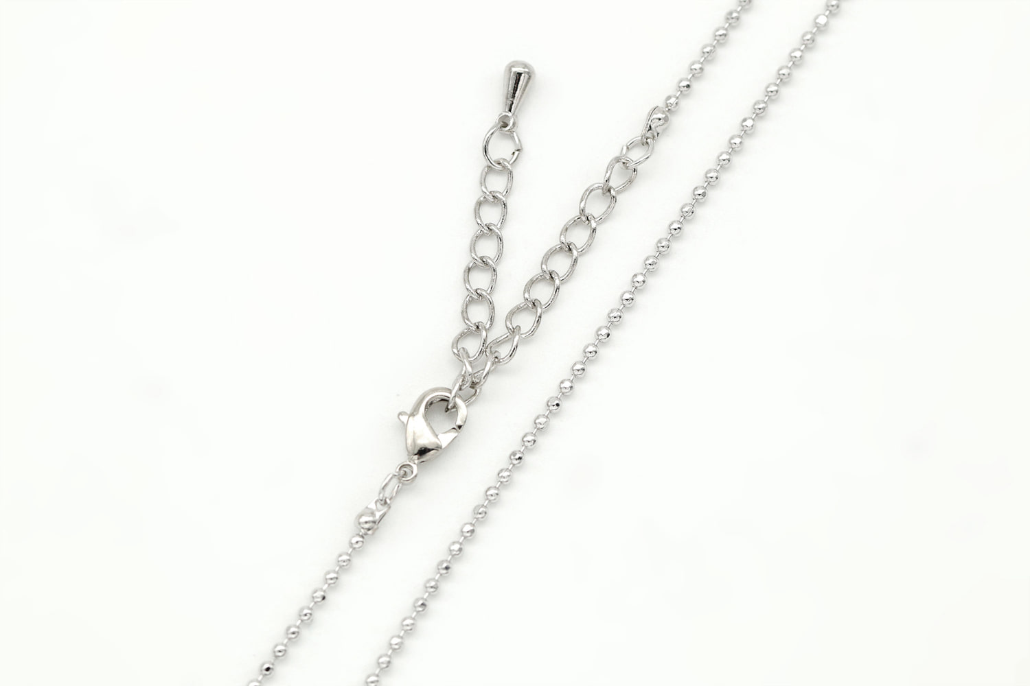 1.5 ball DC chain necklace, N0404-R1