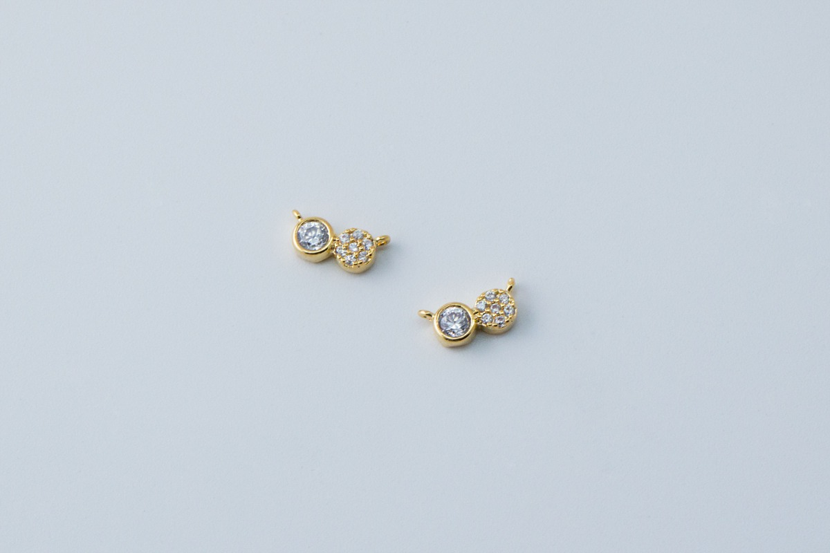 Cubic infinite connector charm, N31-R14