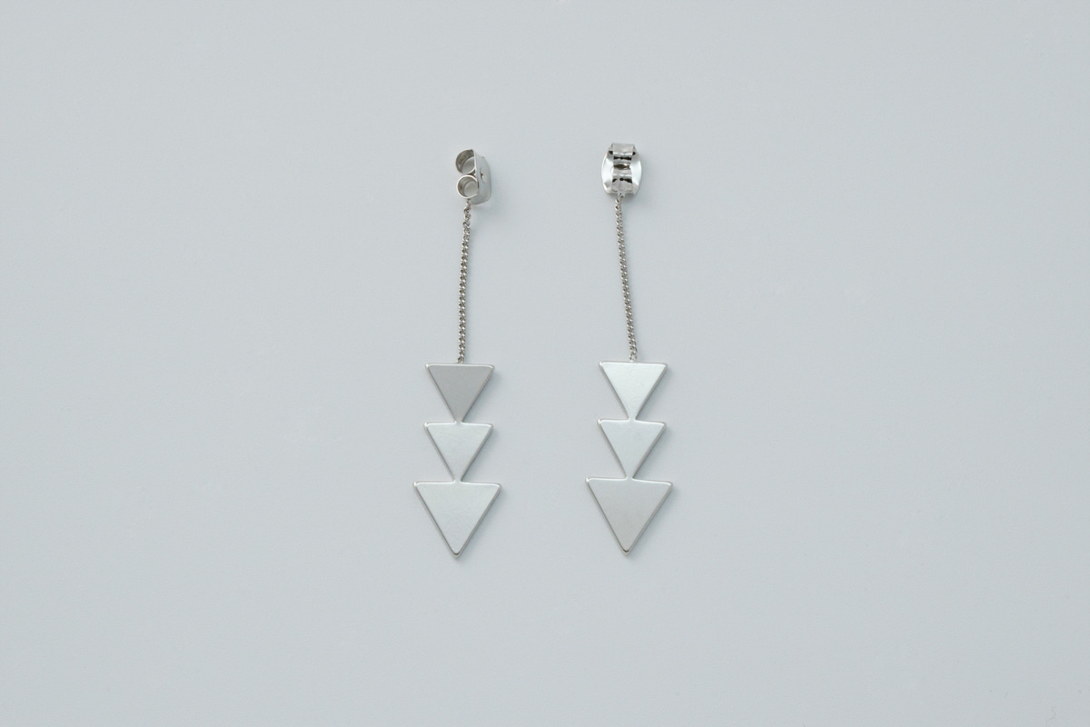 Triangles Earring Back, T71-G2R