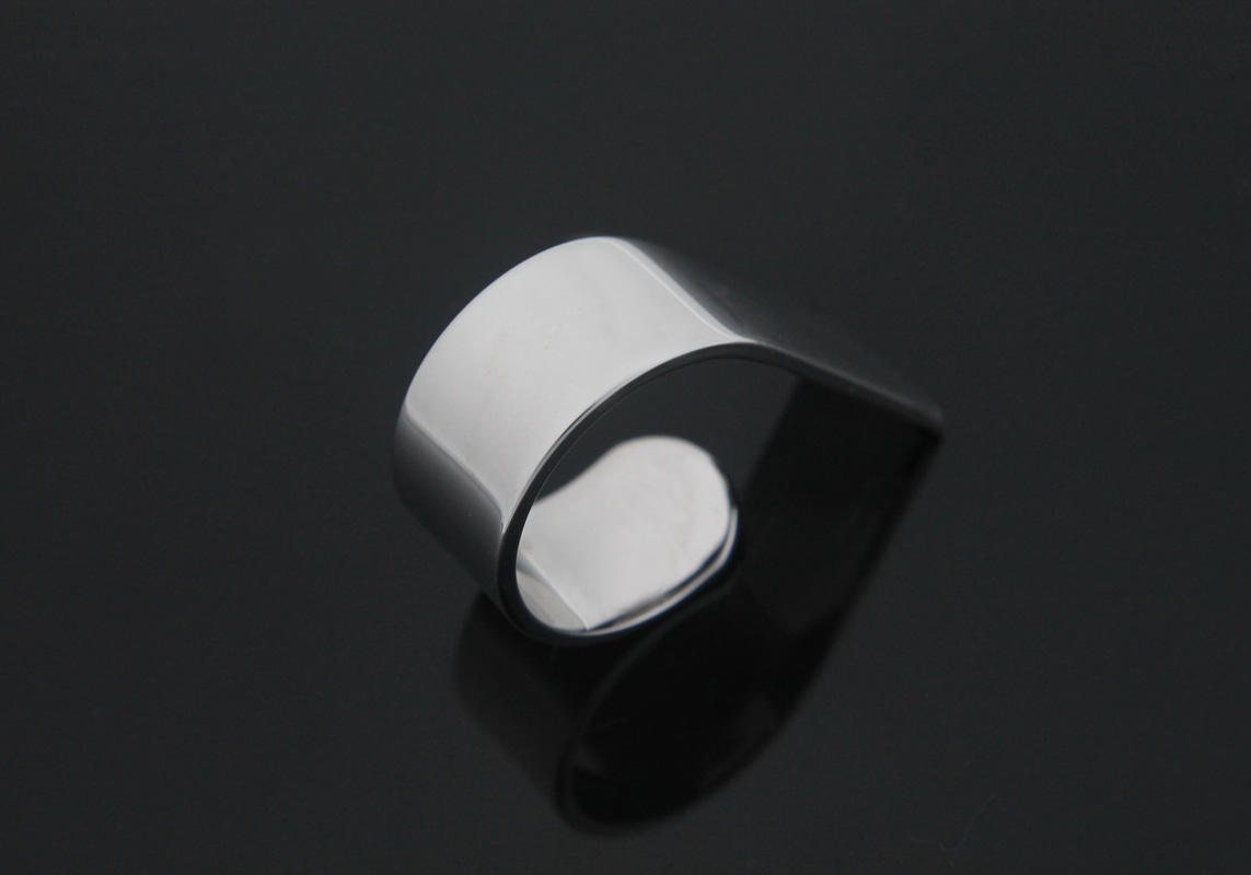 [Y2-R7]Geometric ring for stamping, Nickel Free, 1 piece, Free Size, Inner 16mm, Original Rhodium Plated Brass, Daily Ring, Minimalist Ring