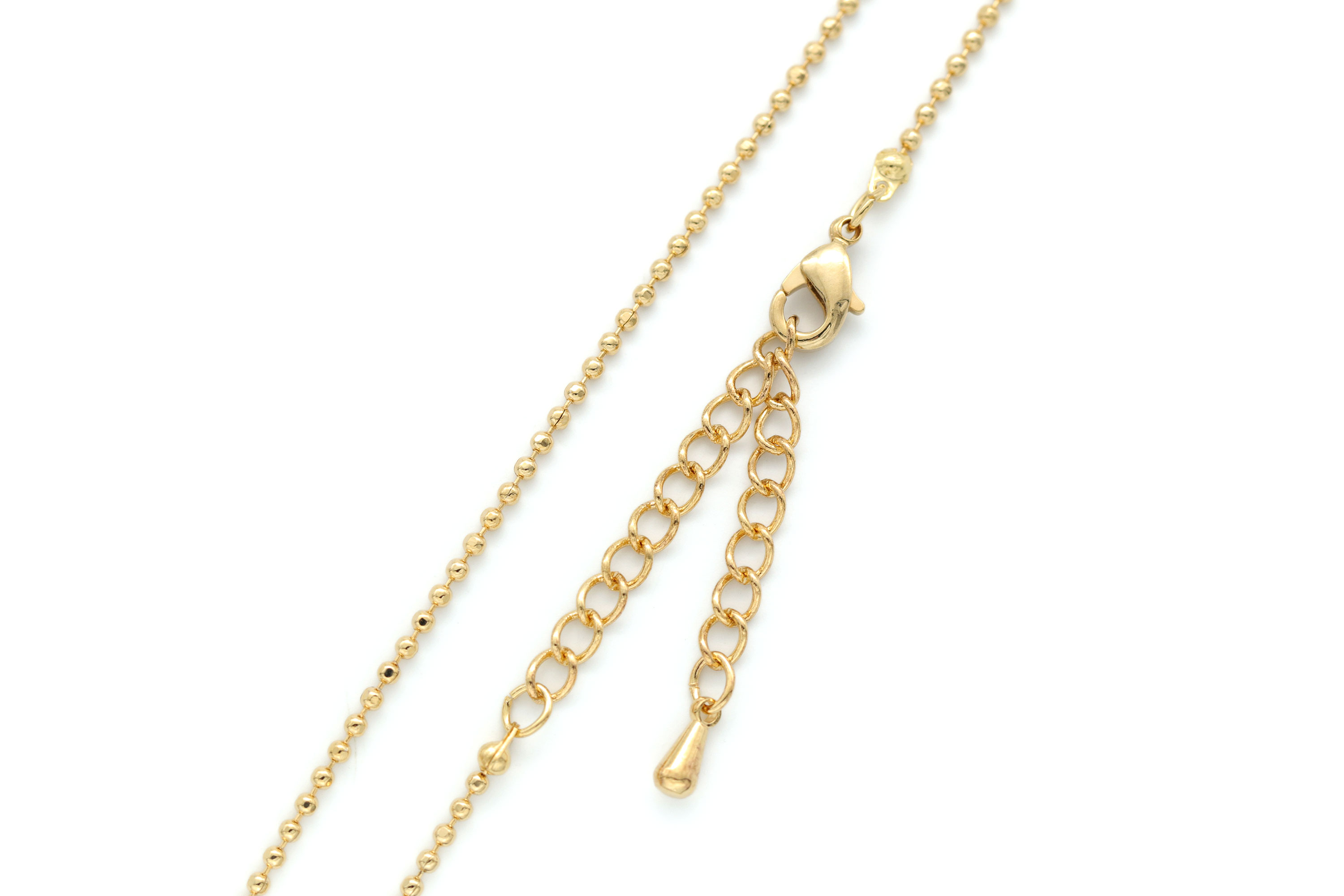 1.5 ball DC chain necklace, N0403-G1